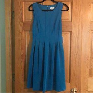 NWT CALVIN KLEIN FITTED SLEEVELESS DRESS